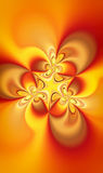 Fractal soul flame Stock Photography