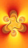 Fractal soul flame Royalty Free Stock Image