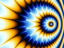 Fractal Spiral Royalty Free Stock Photo