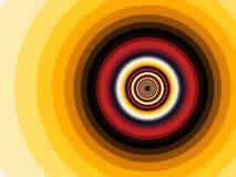 Fractal spiral Stock Image
