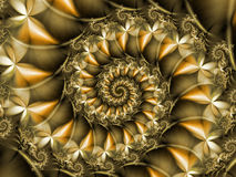Fractal Spiral Stock Photography