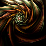 Fractal spiral flower Royalty Free Stock Photography