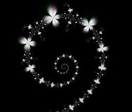 fractal spirali Obrazy Royalty Free
