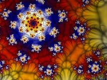 fractal spirali ilustracja wektor