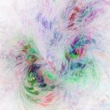 Fractal square background. Fractal light square surreal background stock illustration