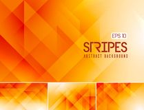 Fractal stripes abstract background. Vector fractal and stripes abstract background. Suitable for your design element and background Stock Illustration