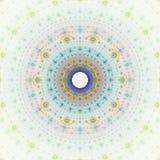 Fractal sun fantasy. Bright abstract fractal sun, Fractal mandala fantasy royalty free illustration