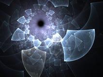 Fractal swirl Stock Images