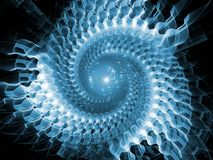 Synergies of Radial Fractal Texture Stock Photos