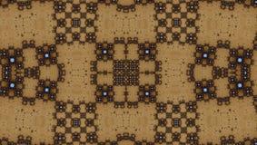 Fractal symmetry pattern (Julia set) Royalty Free Stock Photo
