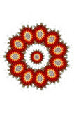 fractal tła Zdjęcie Royalty Free