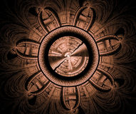 Fractal tło Royalty Ilustracja