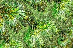 Fractal textuur - abstract digitaal geproduceerd beeld Stock Fotografie