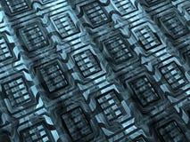 Fractal textuur - abstract digitaal geproduceerd beeld Royalty-vrije Stock Foto