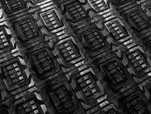 Fractal textuur - abstract digitaal geproduceerd beeld Royalty-vrije Stock Foto's
