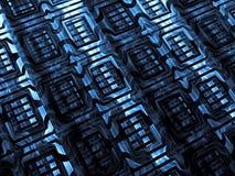 Fractal textuur - abstract digitaal geproduceerd beeld Royalty-vrije Stock Afbeelding