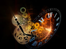 Fractal Time Royalty Free Stock Images