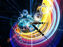 Fractal Time Stock Images