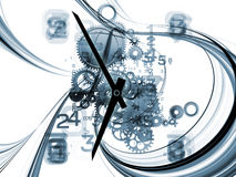 Fractal Time Royalty Free Stock Image