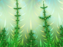 Fractal tree Royalty Free Stock Photography
