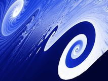 Fractal - Twirl background vector illustration