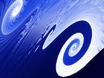 Fractal - Twirl background Stock Photography
