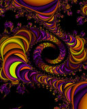 Fractal universe. Generated abstract texture vector illustration