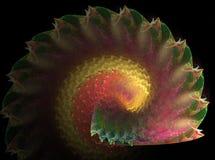 fractal łupiny Obrazy Royalty Free