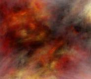 Fractal van de brand stock illustratie