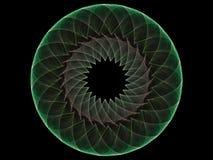 Fractal van de cirkel vector illustratie