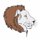Fractal van de leeuw royalty-vrije stock foto