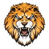 Fractal van de leeuw stock illustratie