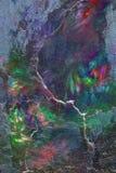 Fractal van Grunge achtergrond Stock Foto