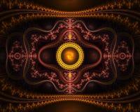 Fractal van Julia kunstwerk Royalty-vrije Stock Afbeeldingen