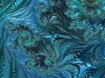 Fractal veelkleurige beelden Stock Afbeelding