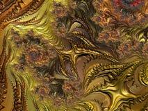 Fractal veelkleurige beelden Royalty-vrije Stock Foto