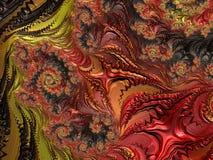 Fractal veelkleurige beelden Royalty-vrije Stock Fotografie