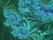Fractal veelkleurige beelden Stock Afbeeldingen
