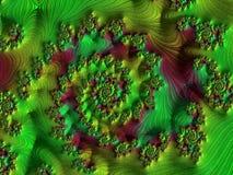 Fractal veelkleurige beelden Stock Foto's