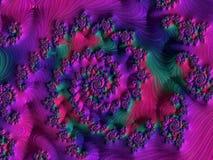Fractal veelkleurige beelden Stock Foto