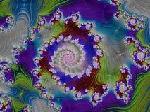 Fractal veelkleurige beelden Royalty-vrije Stock Afbeeldingen
