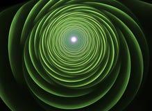 Fractal vertigo. Computer generated abstract futuristic background Royalty Free Illustration