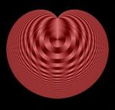 fractal w kształcie serca Zdjęcia Royalty Free
