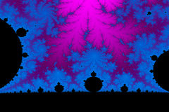 Fractal świat Obrazy Royalty Free