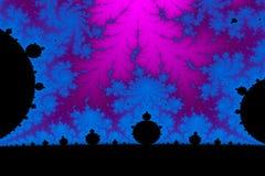Fractal World. A digitally generated colorful fractal background based on the mandelbrot set royalty free stock images