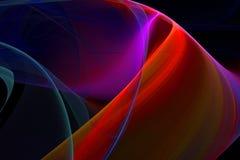 fractal wstążki Obraz Royalty Free