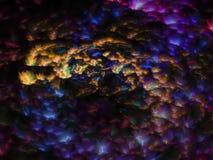 Fractalabstrakt begrepp, digitalt frambragt, design för modernt disko för oändlighet idérik, kaos royaltyfri foto