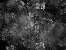 Fractalabstrakt begrepp som är digitalt, idérik design för bakgrund, svartvitt kaos arkivfoton