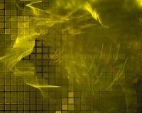 Fractale abstraite de Digital, imagination futuriste de conception de beau papier peint de texture illustration libre de droits