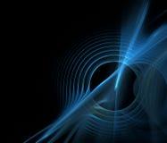 Fractale d'onde sonore Images libres de droits